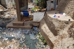 Rubbish-on-Old-Railway-Bridge-Freetown-